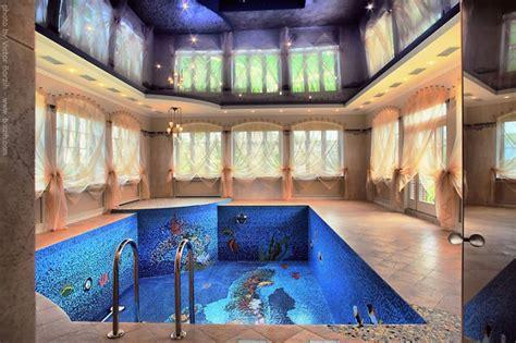 elegant indoor swimming pool   Iroonie.com