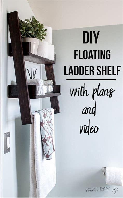ladder bookcase diy best 25 ladder shelf decor ideas on ladder