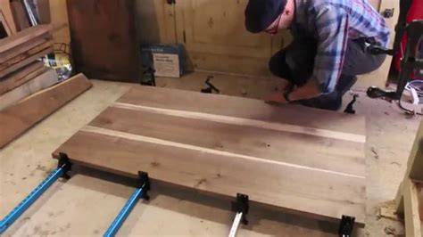 how to build a small kitchen table best 25 diy kitchen island building a walnut dining table patrick hosey youtube