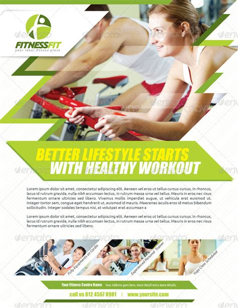 fitness boot c flyer template fitness flyer vol 2 by kitcreativestudio graphicriver