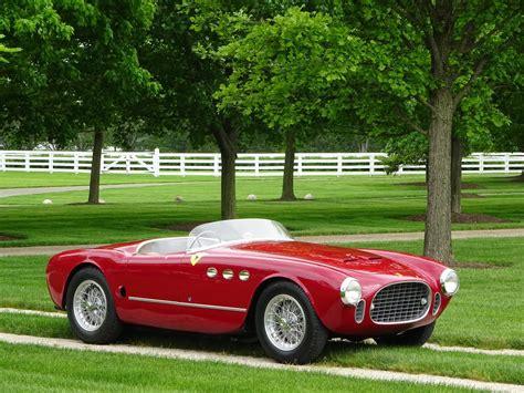 ferrari sport 1952 ferrari 225 sport vignale spyder copley motorcars
