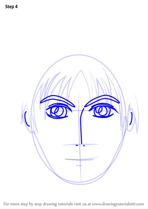 learn   draw anime boy face face step  step drawing tutorials