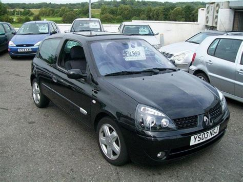 clio renault 2003 used renault clio 2003 petrol 1 4 16v dynamique 3dr