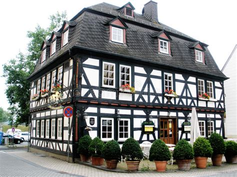 Half Timbered House Plans by Half Timbered House In Germany Stock Photo Image 54210673