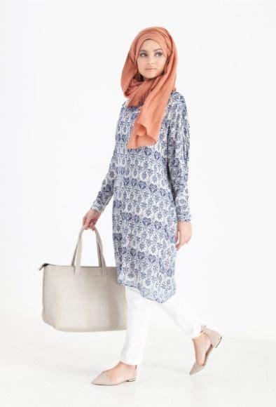 Baju Koko Mahal Trendy 17 model baju atasan muslim terbaru tahun 2016