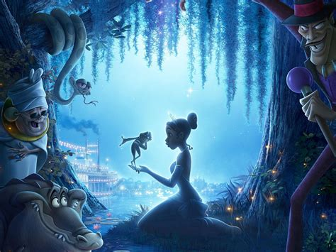 wallpaper blue movie the princess and the frog wallpapers best wallpapers