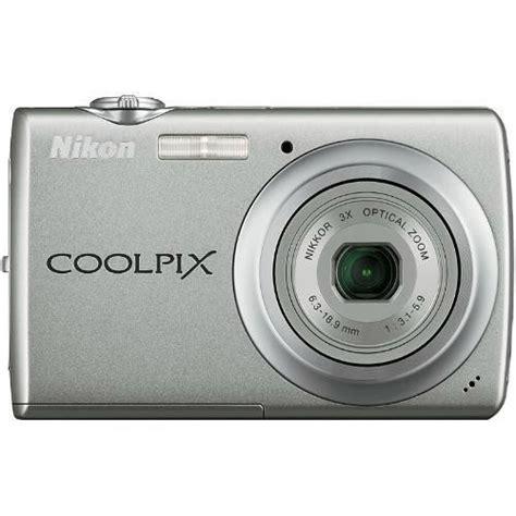 Nikon S220 nikon coolpix s220 digital warm silver 26146 b h