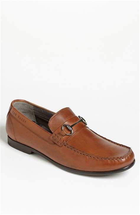 ted baker mens loafers ted baker braddle 2 bit loafer in brown for lyst