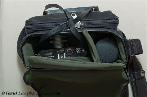 leica bag billingham combination bag for the leica m review