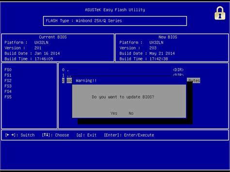 Asus Laptop Bios Upgrade how to update bios on asus laptop