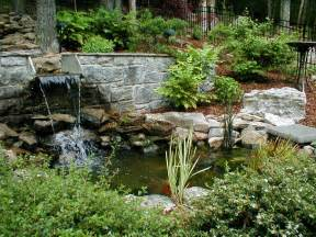 Small Garden Waterfall Ideas Marvelous Idea For Backyard Pond Pictures Landscape With Waterfall And Small Pond