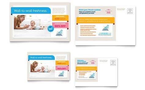 microsoft office postcard templates carpet cleaning postcard template word publisher