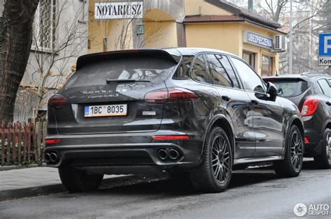 2017 porsche cayenne turbo s porsche 958 cayenne turbo s mkii 26 january 2017