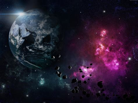 Wallpaper Earth, planet, space, nebula, explosion, Space #5407