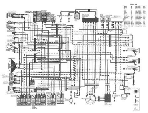 honda cbr  wiring diagram wiring diagram networks
