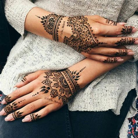 henna tattoos auf der hand 17 best ideas about auf der on