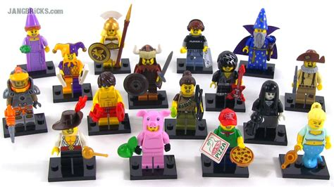 Lego Minifigures Series 12 Complete Set 16 Character jangbricks lego reviews mocs october 2014