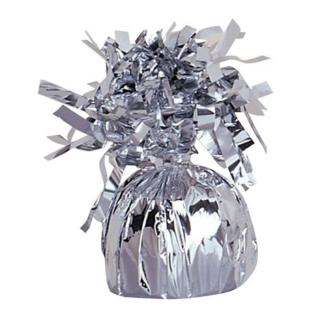 Silver Foil Balloon C silver foil balloon weight balloons and 30th birthday