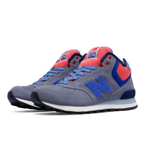 Nb 574 Grey Pink new balance 574 mid cut s 574 shoes grey blue