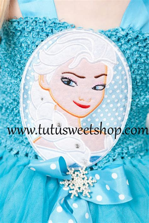 Handmade Elsa Costume - handmade elsa frozen inspired baby tutu dress