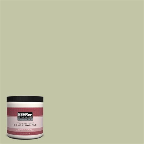 behr premium plus ultra 8 oz ppu10 12 whitened interior exterior paint sle ul20016