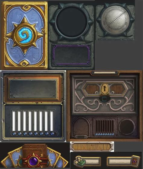 Hearthstone Card Back 3d Template by 37 Best Images About Ui On Artworks