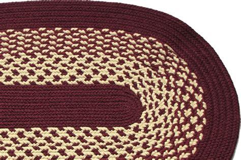 burgundy braided rug river burgundy braided rug