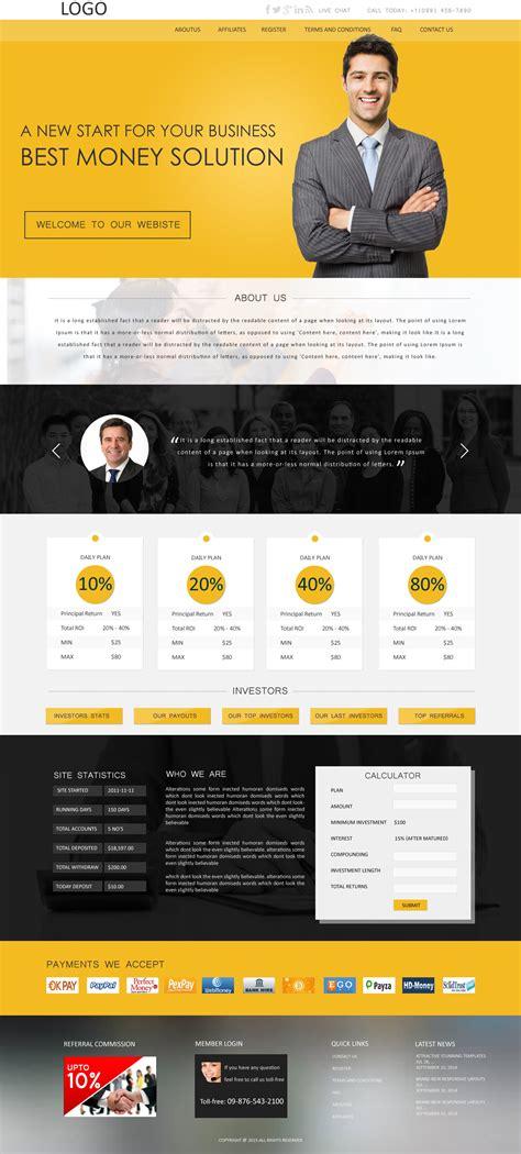 Best Hyip Website Templates Buy Hyip Templates Design Angellist Buy Website Templates