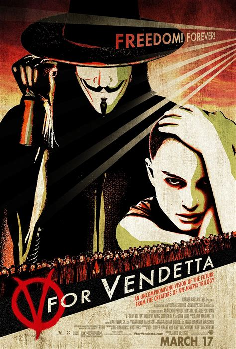 v for vendetta pictures posters news and videos on your pursuit hobbies interests and worries v for vendetta 2006 poster freemovieposters net