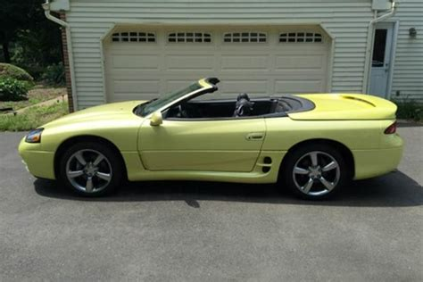 mitsubishi 3000gt yellow autotrader find bright yellow mitsubishi 3000gt vr 4
