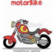 Transporte Moto Colecci&243n Caricatura Arte
