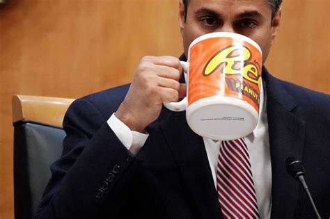 ajit pai reese s internet fumes at fcc chairman s cartoonishly large coffee