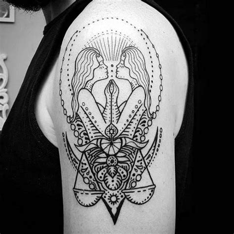 gemini tattoos for men best 25 gemini designs ideas on gemini