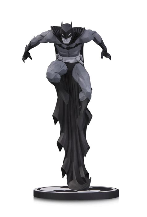 Home Design Elements Reviews Batman Black Amp White Statue By Jonathan Matthews