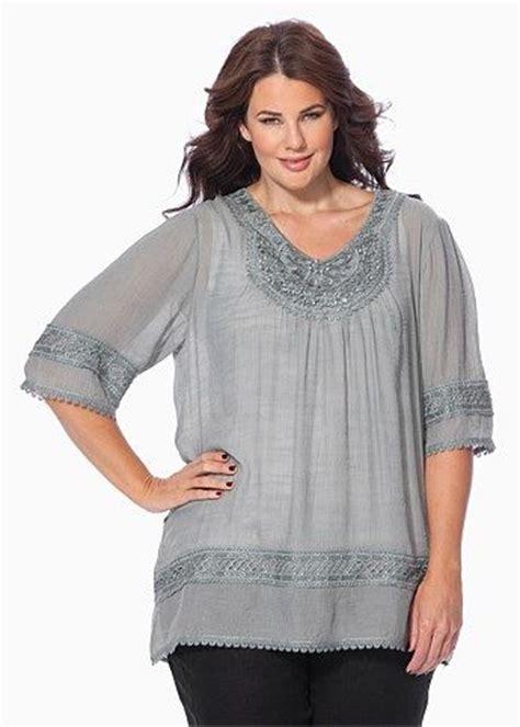 Kinara Jumbo Blouse By Rizky Fashion fashion plus size large size womens clothes tops dresses fashionable plus size clothes