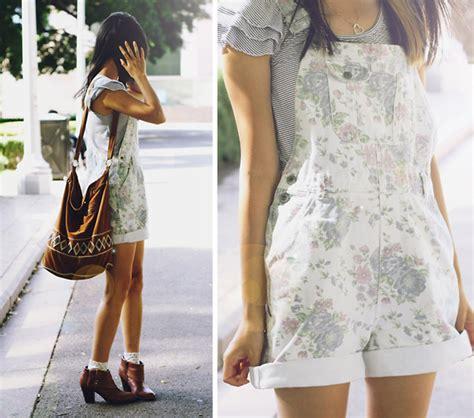 Conny Overall connie cao vintage overalls vintage floral denim