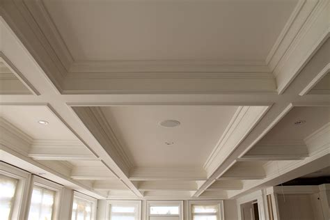 Coffered Ceiling Installation Coffered Ceilings Are Within Reach Canamould