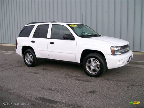 chevrolet trailblazer 2008 2008 summit white chevrolet trailblazer lt 4x4 1085774