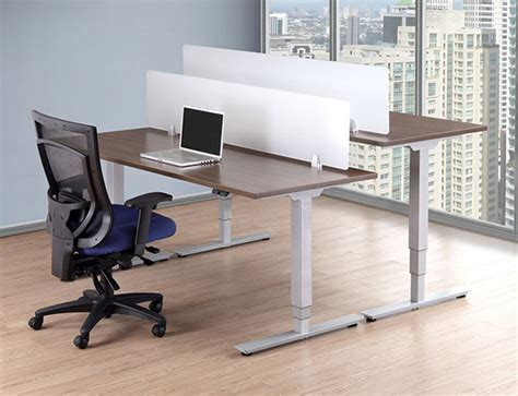 affordable sit stand desk affordable office sit to stand desks baystate office