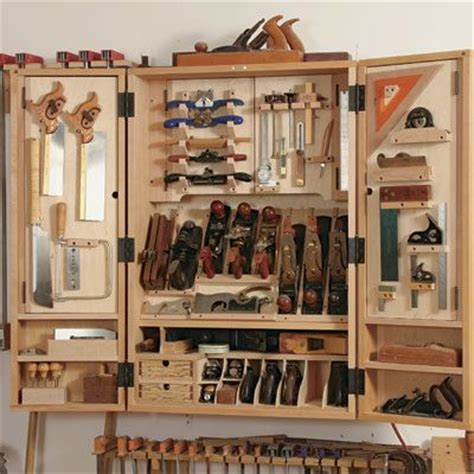 wood tool cabinets woodworking projects plans