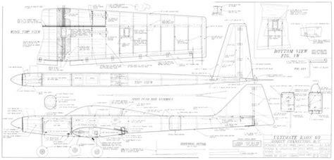 Kaos Aviation Plane by Ultimate Kaos 60 Plans Aerofred Free Model