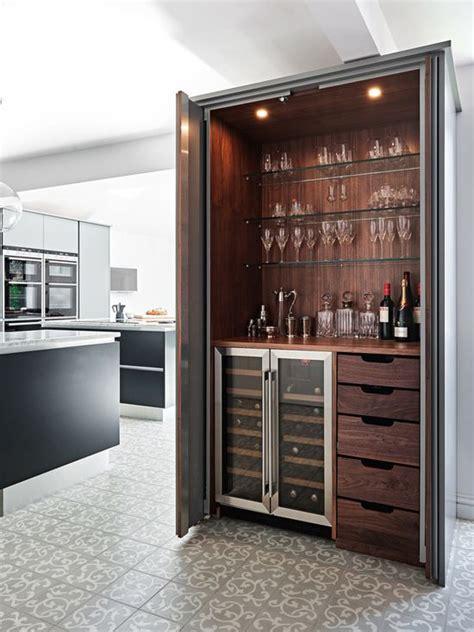 Modern Bar Cabinetry