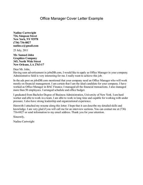 Cover Letter Office by Best Photos Of Office Letter Format Office Assistant
