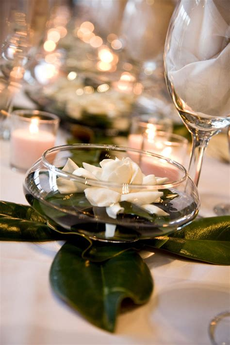 floating gardenia centerpieces elizabeth anne designs