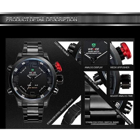 Rp Weide Japan Quartz Miyota Led Sports 30m Wh2309 3 weide japan quartz miyota led sports 30m