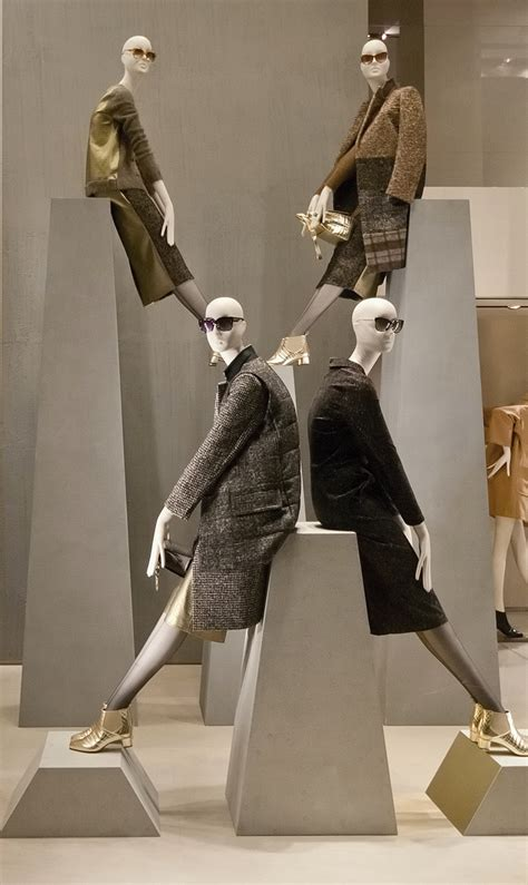 max mara windows  fall milan italy