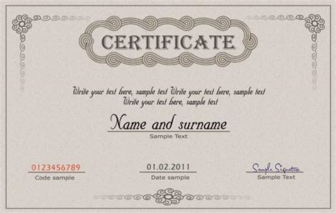 coupon certificate template diploma certificate and coupon template
