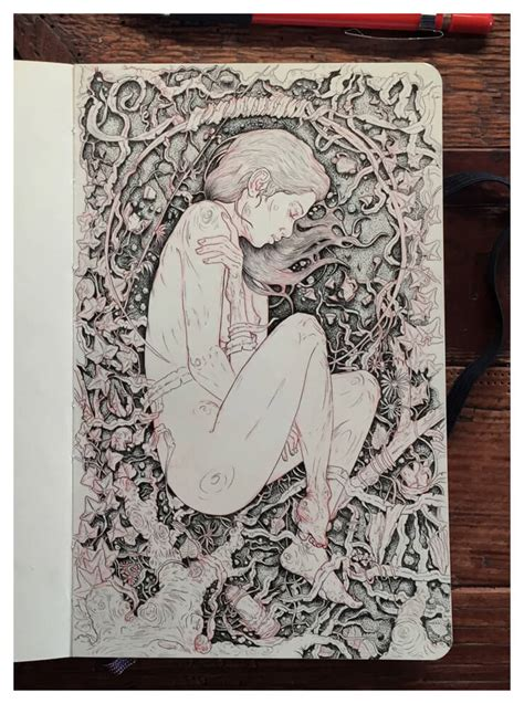sketchbook inspiration the intricate and creative moleskine sketchbook of
