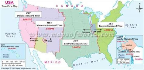 map of usa showing different time zones 2 us map holidaymapq