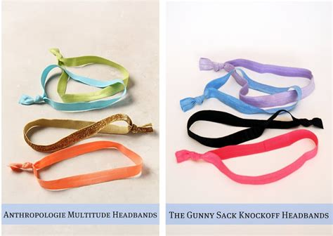 diy anthropologie multitude hair ties tutorial from love u anthropologie knockoff multitude headbands the gunny sack